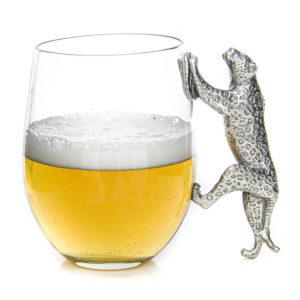 Leopard Beer Mug
