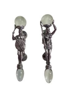 African Figurine Handles